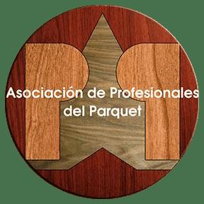 Asociación de Profesionales del Parquet-en logotipoa